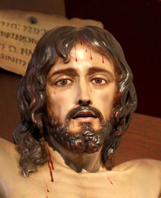 LA MIRADA DE CRISTO EN LA CRUZ